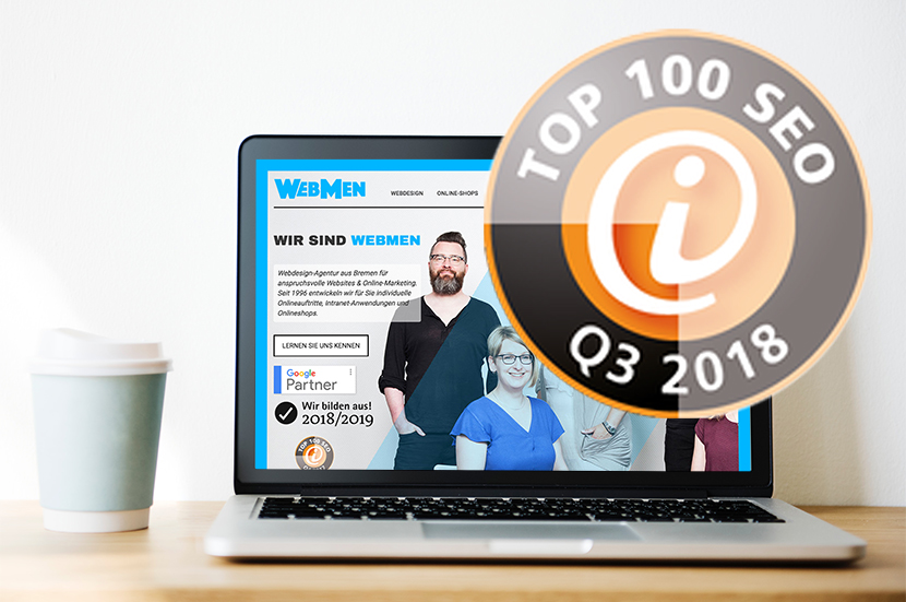 WebMen Bremen gehört zu den Top 100 SEO-Agenturen in Deutschland
