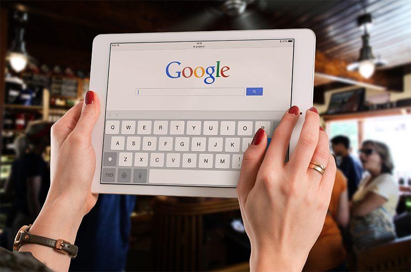 Google Core Algorihmus Update Tablet