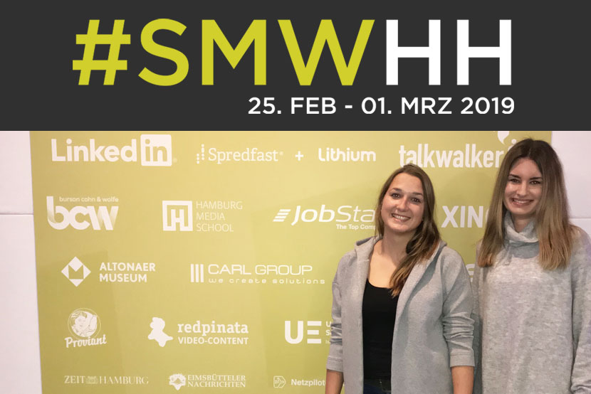 WebMen bei der Social Media Week Hamburg 2019 #SMWHH