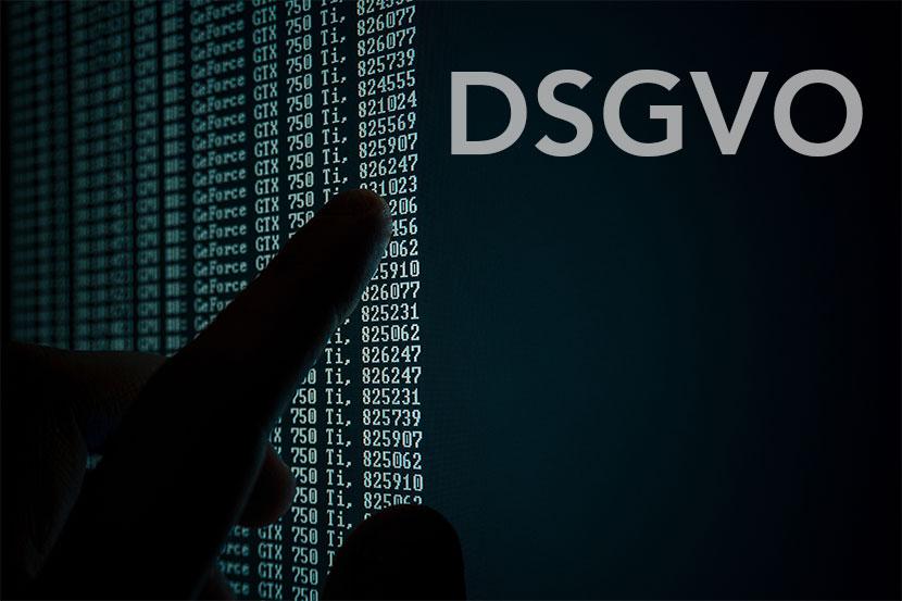 Datenschutzgrundverordnung DSGVO WebMen