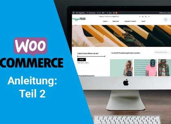 WooCommerce ANleitung Teil 2: einfache Produkte anlegen