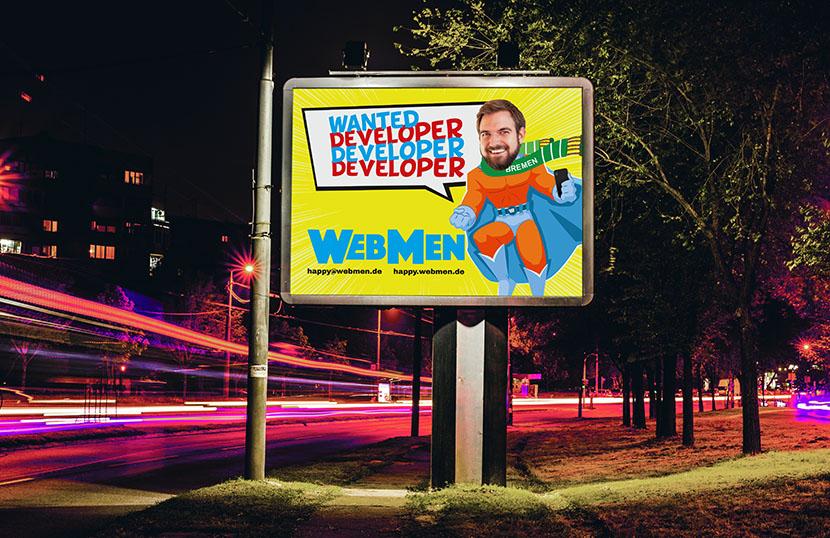 happy@webmen Kampagne Deutscher Agenturpreis 2019