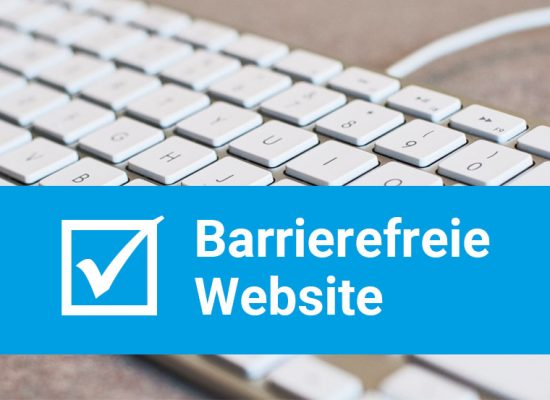 Barrierefreie Website