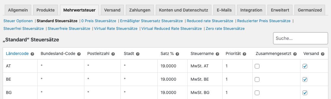 WooCommerce Mehrwertsteuer – WebMen Blog