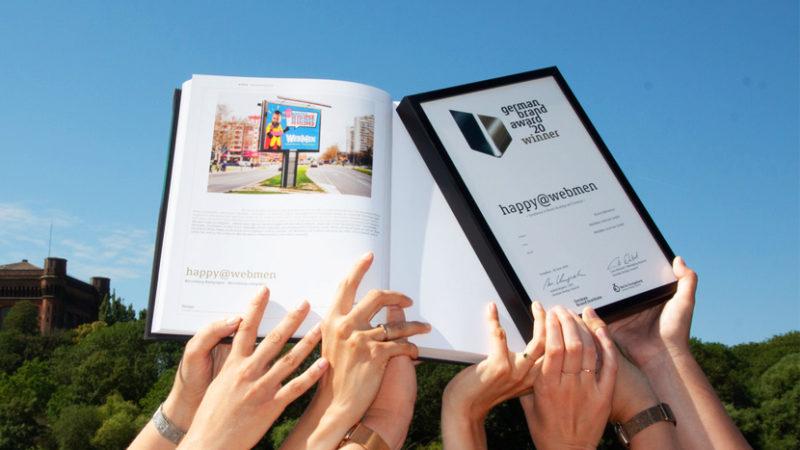 WebMen gewinnt German Brand Award!
