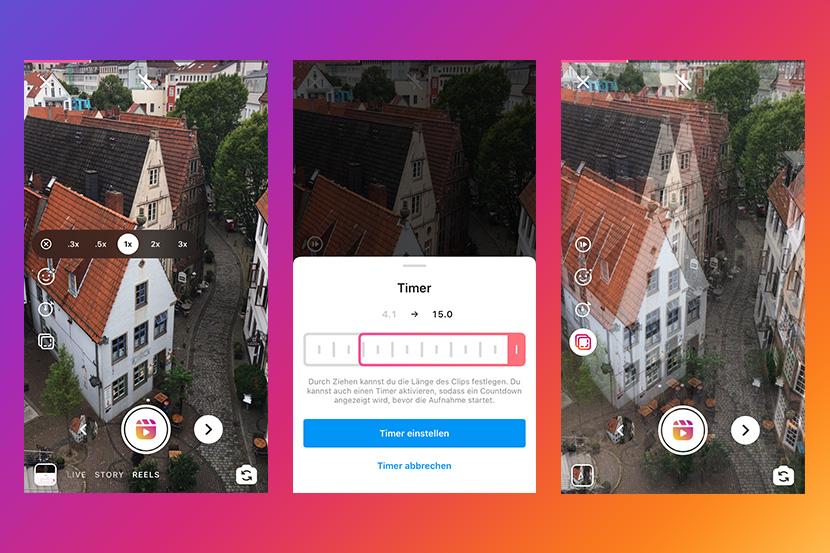Instagram Reels Anleitung – Reels Bearbeitungstools